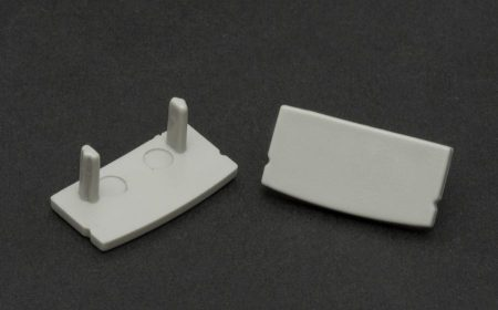 LED aluminium profil végzáró U alakú profilhoz 2db (41010M1)