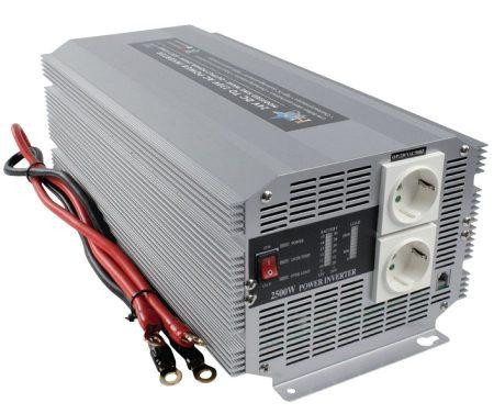 Inverter 2500W 24V - 230V (HQ-INV2500/24) KIFOGYOTT !!!!! (előre utalással)