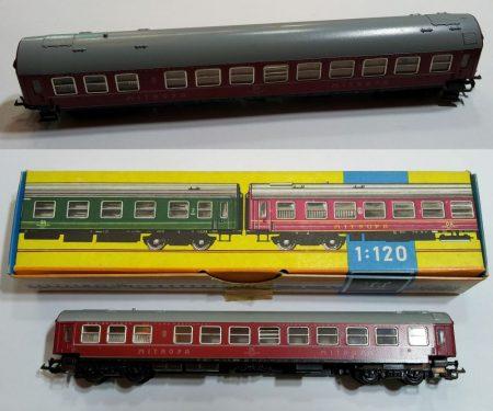 TT vagon MITROPA személyszállítói vasútmodell eredeti állapot AKCIÓS !!!!!