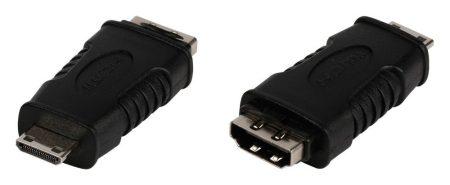 HDMI aljzat/mini HDMI dugó, adapter (VLVP34906B CVGP34906BK) AKCIÓS !!!!!! KAPHATÓ !!!!!!!