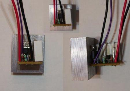 Állítható áramkorlát power LED-hez. 300-1400mA DC-DC (hűtőbordával) AKCIÓS !!!!! KAPHATÓ !!!!!!