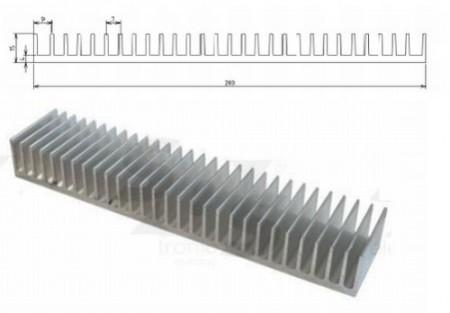 Hütőborda POWER LED-ekhez L=40mm 200x15mm (65683) RENDELÉS ALATT !!!!!