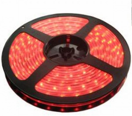 5050 SMD 60 LED-es szalag Piros 1m IP65 KÉSZLETHIÁNY !!!!!!!
