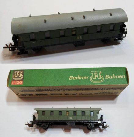 TT vagon régi kocsi zöld vasútmodell eredeti állapot (1) ELADVA !!!!!