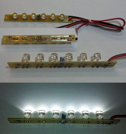 LED moduli fény betét 168 lumen 100fok hideg-fehér 12-14,5V KAPHATÓ !!!!!!