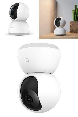 Xiaomi Mi otthoni WiFi biztonsági kamera 360° 1080p KÜLSŐ RAKTÁRON !!!!!! 2-3 munkanap (előre utalással)
