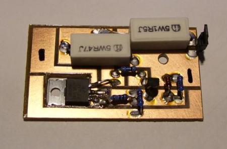 Állítható áramkorlát power LED-hez. 1300-1750mA DC-DC (hűtőborda nélkül) AKCIÓS !!!! KAPHATÓ !!!!!!