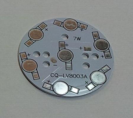 Hütőcsillag 49mm 7db power LED-hez KAPHATÓ !!!!!