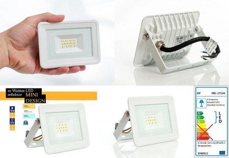 Mini LED reflektor fehér 10W 100°  Természetes fehér AKCIÓS !!!!!! RENDELÉSRE !!!!!! 3-4 munkanap