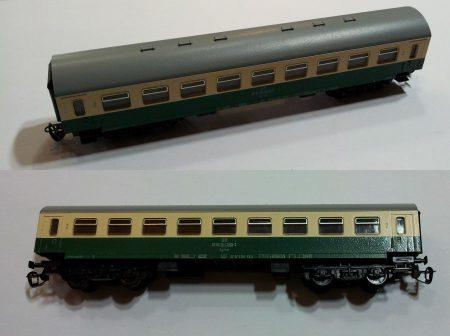 TT vagon személyszállító kocsi vasútmodell eredeti állapot 5750 KAPHATÓ !!!!!