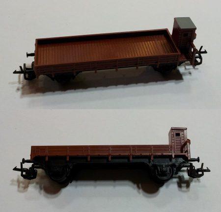 TT szállító kocsi vasútmodell eredeti állapot (2) ELADVA !!!!!