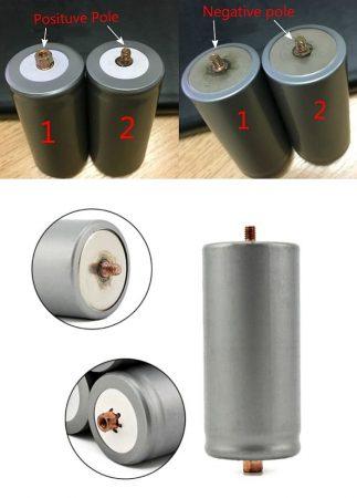 Lifepo4, 32650 ipari akkumulátor cella, 4Ah, 2000 teljes cikklus-tól,  párban. AKCIÓS !!!!!! KAPHATÓ !!!!!!!