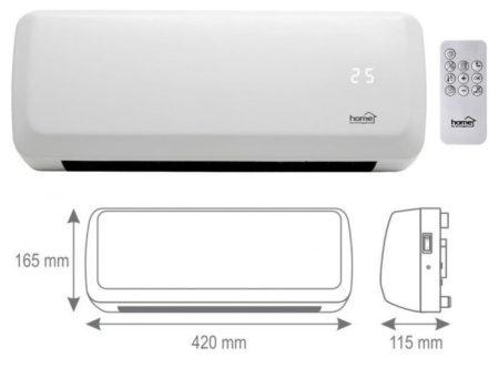 Fali ventilátoros fűtőtest (FKF 42201) RENDELÉSRE !!!!! 2-3 munkanap
