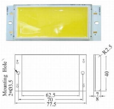 FÉNYPANEL 10W 11,5V POWER LED természetes-fehér 1000 lumen KIFOGYOTT !!!!