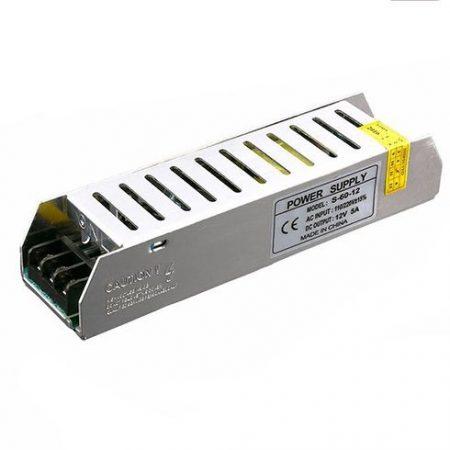 LED tápegység 24 Volt, ipari (60 Watt/2.5A) RENDELÉS ALATT !!!!!!!