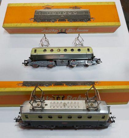 TT villany mozdony vasútmodell eredeti dobozában AKCIÓS !!!!!! ELADVA !!!!!!!