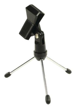 Mikrofon Állvány Asztali (MPST05BK) RENDELÉSRE !!!!!! 1-2 munkanap