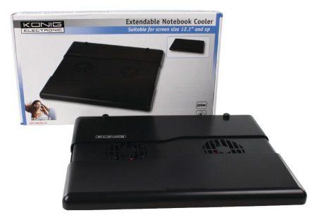 Állítható, összecsukható, hordozható, notebook hűtő (CMP-COOLER110) AKCIÓS !!!!!!! KAPHATÓ !!!!!
