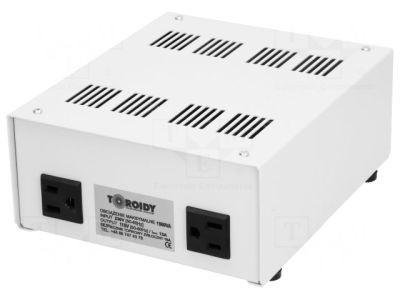 Asztali feszültség konverter 800W (AUTOTRANSFORMÁTOR fém házban ATS800VA-U-230/110V U) RENDELÉSRE !!!!! 3-4 munkanap (előre utalással)