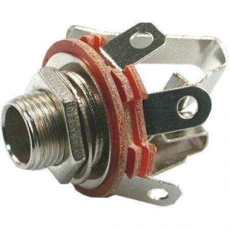 6,3mm jack sztereó fém beépíthető aljzat (05130 4057A) RENDELÉS ALATT !!!!!!!