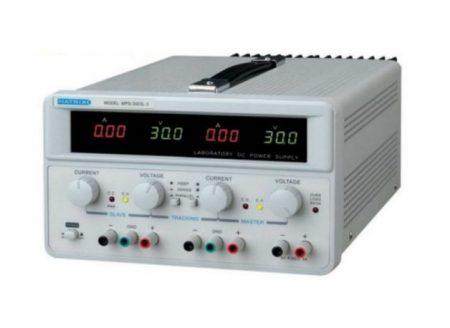 Laboratóriumi tápegység, 2x30V 2x3A, 1x5V fix 3A (MPS-3003L-3) RENDELÉSRE !!!!!! 3-4 munkanap (előre utalással)