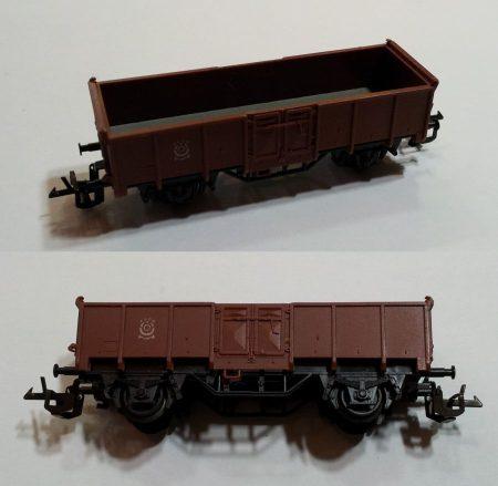 TT szállító kocsi vasútmodell eredeti állapot (1) ELADVA !!!!!