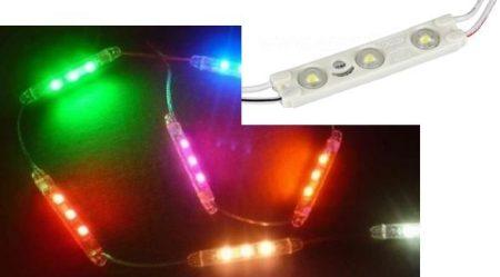 LED modul 2835 LED (1 Watt) - Kék fényű KAPHATÓ !!!!!!