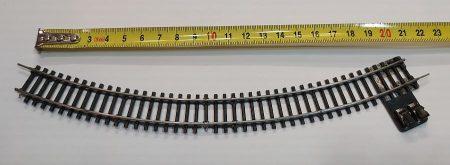 TT vasútmodell sín ív bekötővel 21,5cm eredeti felújított KIFOGYOTT !!!!!
