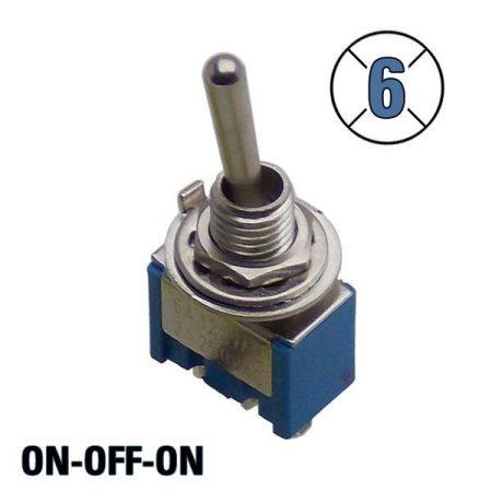 Karos kapcsoló 3 állású 1 áramkör 3A 250V KAPHATÓ !!!!!!