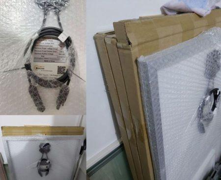 Boguang 100 W-os napelem monokristályos szilícium 18v 1175 * 530 * 25 mm-es AKCIÓS !!!! KAPHATÓ !!!!! Új 3db van készleten !!!