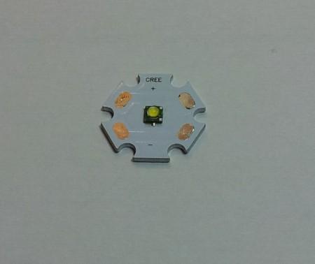 CREE XP-G 5W Power Meleg-feher LED 313 lumen !!! KÉSZLETHIÁNY !!!!!!