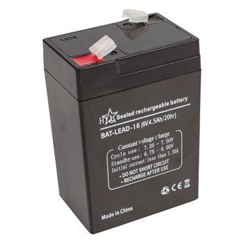Zselés akkumulátor 6V 4,5A  (BALA45006V) KÜLSŐ RAKTÁRON !!!!! 1-2 munkanap