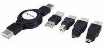 KÖNIG BEHÚZHATÓ USB 2.0 KÁBEL CSOMAG LEÁRAZVA USB A-A A-b nincs a csomagban !!!! KAPHATÓ !!!!!