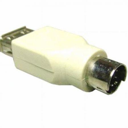 USB A aljzat-PS2 dugó (5045) KIFOGYOTT !!!!!