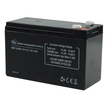 Zselés akkumulátor 12 V 7.2 Ah (BAT-LEAD-12) RENDELÉSRE !!!!