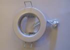 Beépíthető lámpatest fix fehér (lemez) halogénhoz vagy LED-hez MR16 foglalattal AKCIÓS !!!!!! KAPHATÓ !!!!!!