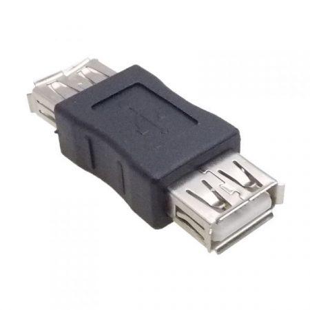 USB A aljzat-USB A aljzat (fekete 18012) KAPHATÓ !!!!!!
