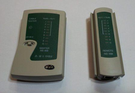 Kábel teszter RJ45 és RJ11 (UTP / TELEFON AKCIÓS !!!! KAPHATÓ !!!!!!